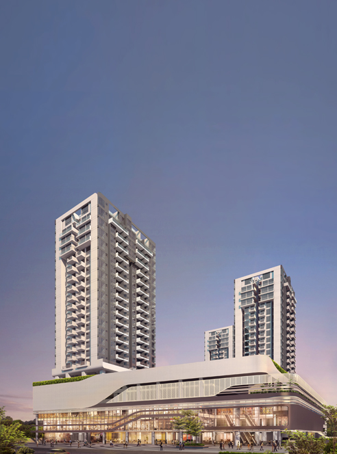 Hillion Residences Facade