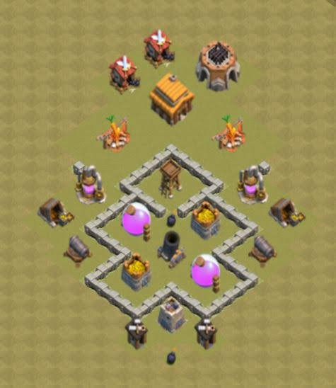 Base COC TH3 War 2