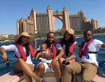 nollywood actor vacation dubai