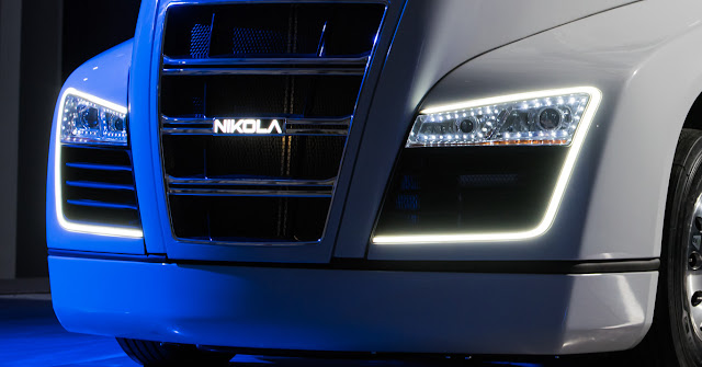 The Nikola One hydrogen truck will carry Bosch e-Axle engines