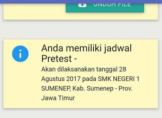 Data Peserta Pretest Pkb 2017 Info Guru