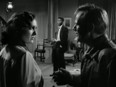 Linda Darnell, Sidney Poitier, Richard Widmark - No Way Out (1950)
