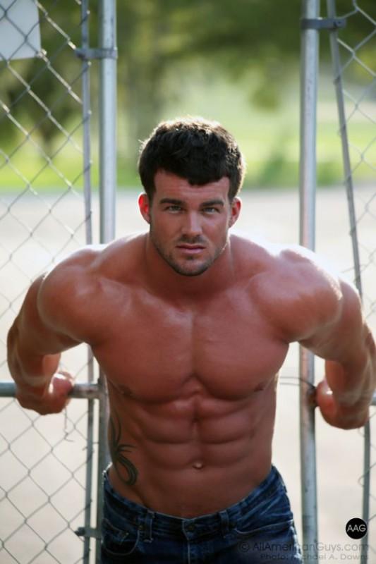 Beautiful Muscle Male Model: Cody Redmon by Michael ...