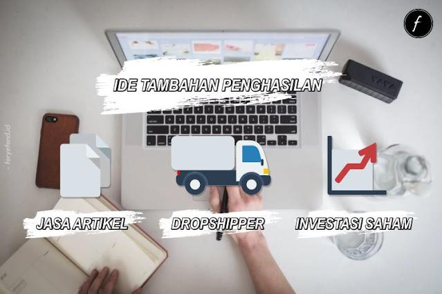 Ide Tambahan Penghasilan dari Internet di Tengah Pandemi