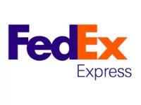 The new logo design of FedEx