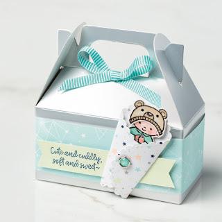 Stampin' Up! Sweet Baby Gift Box