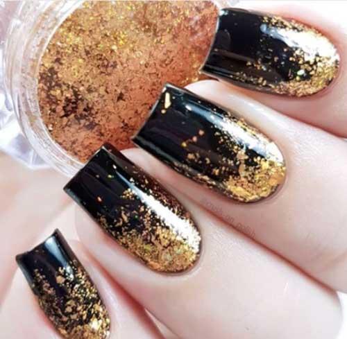simple fall nail designs