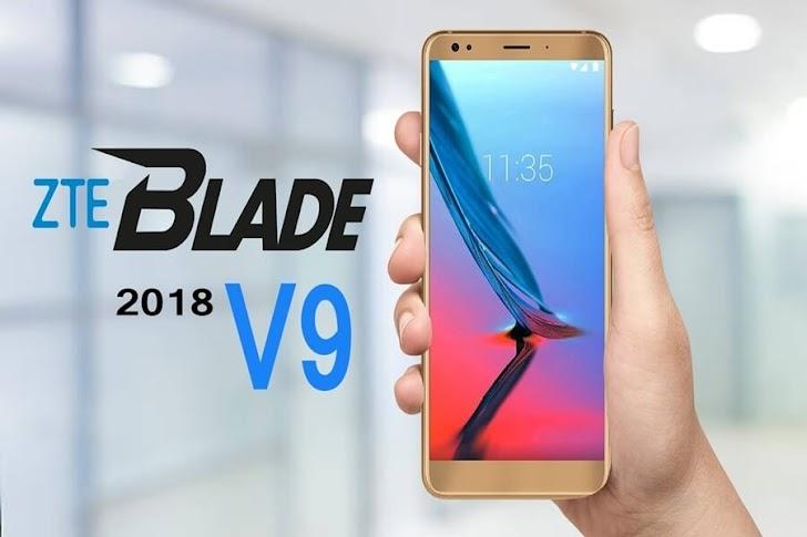 Dibekali ROM 32GB dan Resolusi Full HD, inilah Harga dan Spesifikasi ZTE Blade V9 Terbaru 2018!