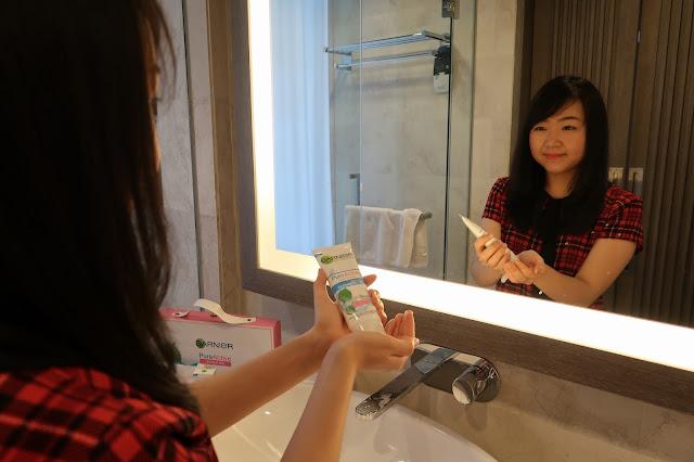 Garnier Pure Active series untuk mengatasi masalah kulit sensitif berjerawat