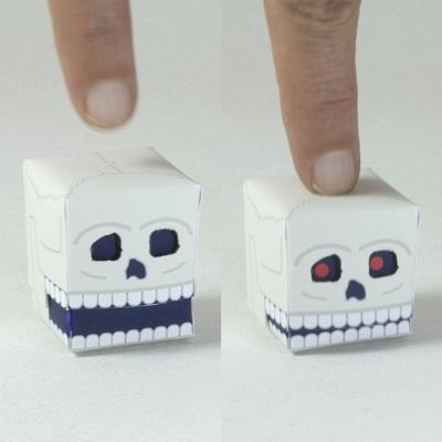 Paper Automata Skull
