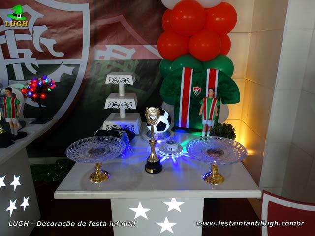 Festa infantil tema Fluminense