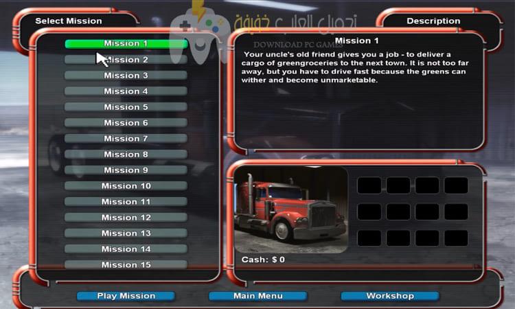 تحميل لعبة سباق الشاحنات Mad Truckers برابط مباشر