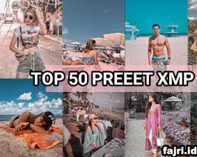 50 Preset XMP Lightroom Terbaik dan Terkeren New Update