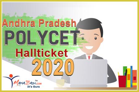 AP Polycet Halltickets 2020