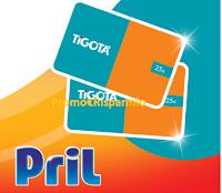 Logo Concorso ''Henkel ti premia in Tigotà'' : vinci buono spesa Tigotà da 25€ con i prodotti Pril