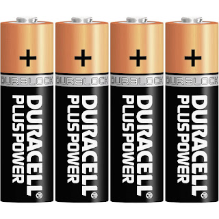 duracell plus power stilo