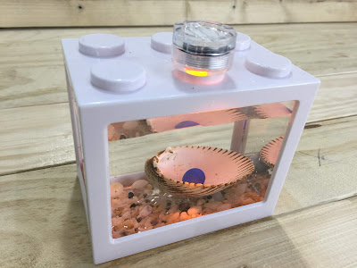 Lego Brick Shape Aquarium Tanks 11