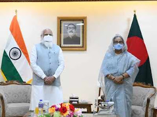 India and Bangladesh signed Various MoUs