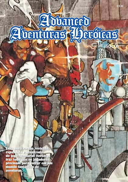 Advanced Aventuras Heróicas (Solo) - print-and-play