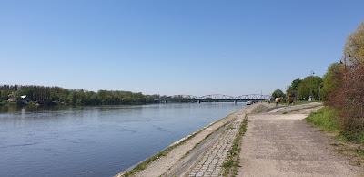 Toruń rzeka Wisła Bulwar Filadelfijski