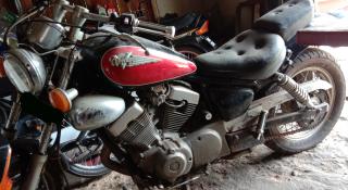 Gambar motor Yamaha virago 250cc