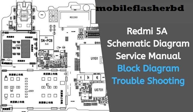 Download Redmi 5A (Riva) Schematic Diagram Service Manual Free Download By Jonaki Telecom