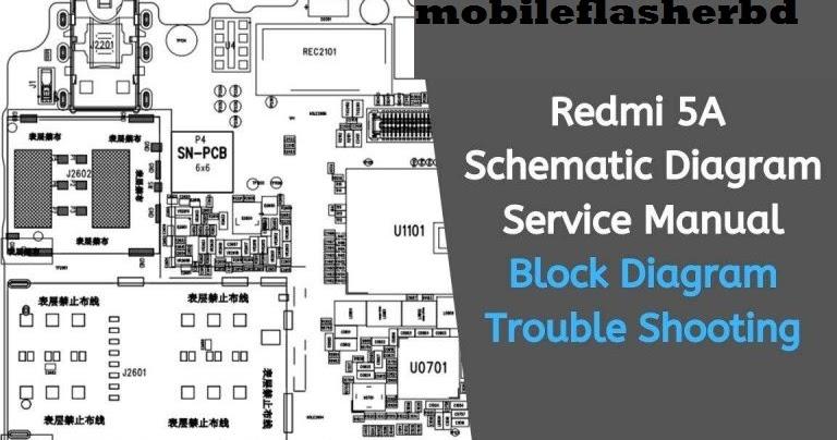 Download Redmi 5a  Riva  Schematic Diagram Service Manual