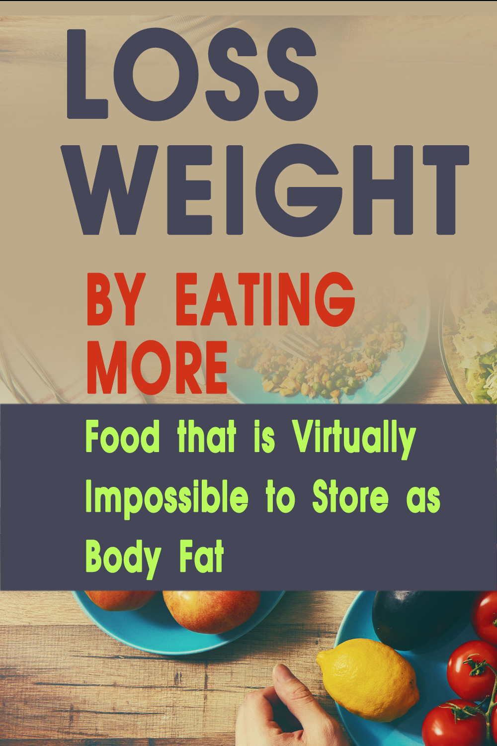 wight loss by eating more