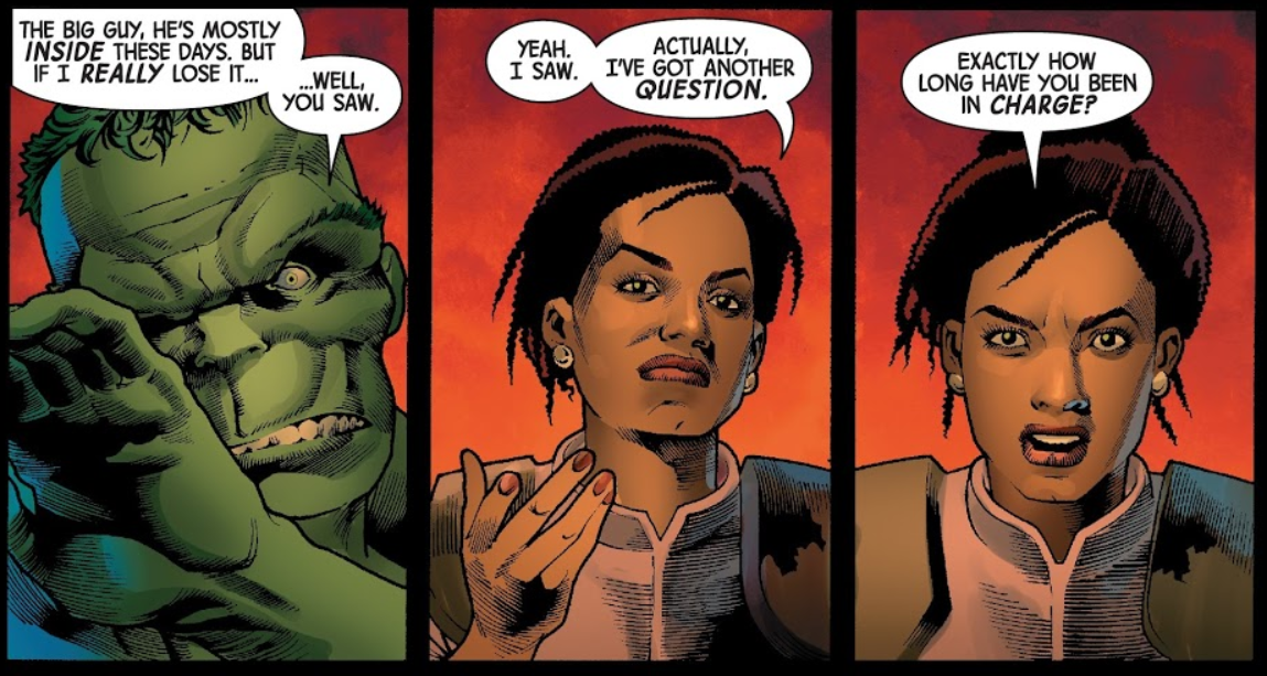 The All New, All Daring Delusional Honesty!: Marvel Two-in-One (Under the Surface of The Immortal Hulk #12, with Apologies to Benjamin J. Grimm)