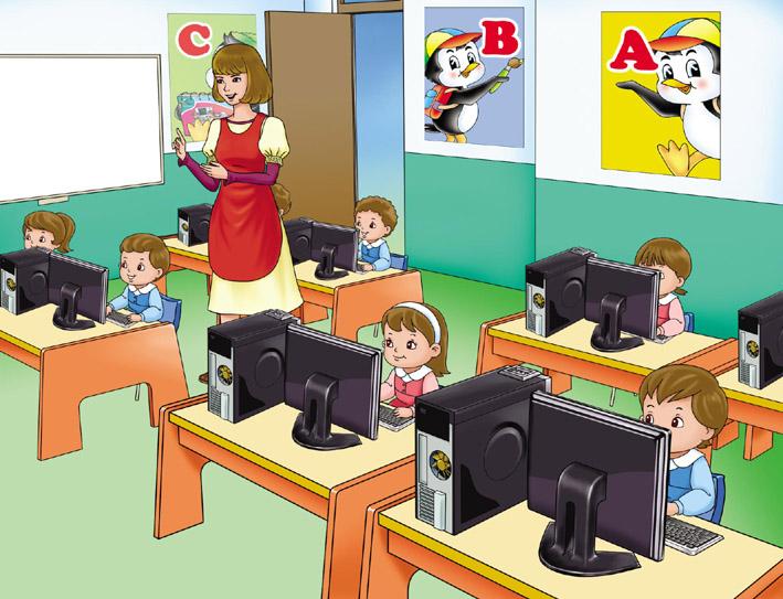 Sala De Computo Para Niños