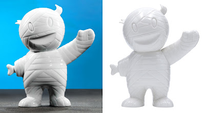 Super7 20th Anniversary Porcelain Mummy Boy Figure