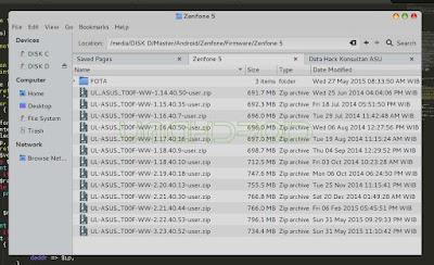 Daftar Firmware Zenfone 5
