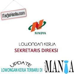 Lowongan Kerja Sekretaris PT Nindya Karya (Persero)