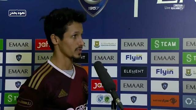 اللاعب السعودي خالد الغامدي يُثير الضجة