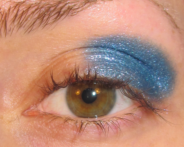 Glitter Is My Crack Purple And Blue Eye Makeup