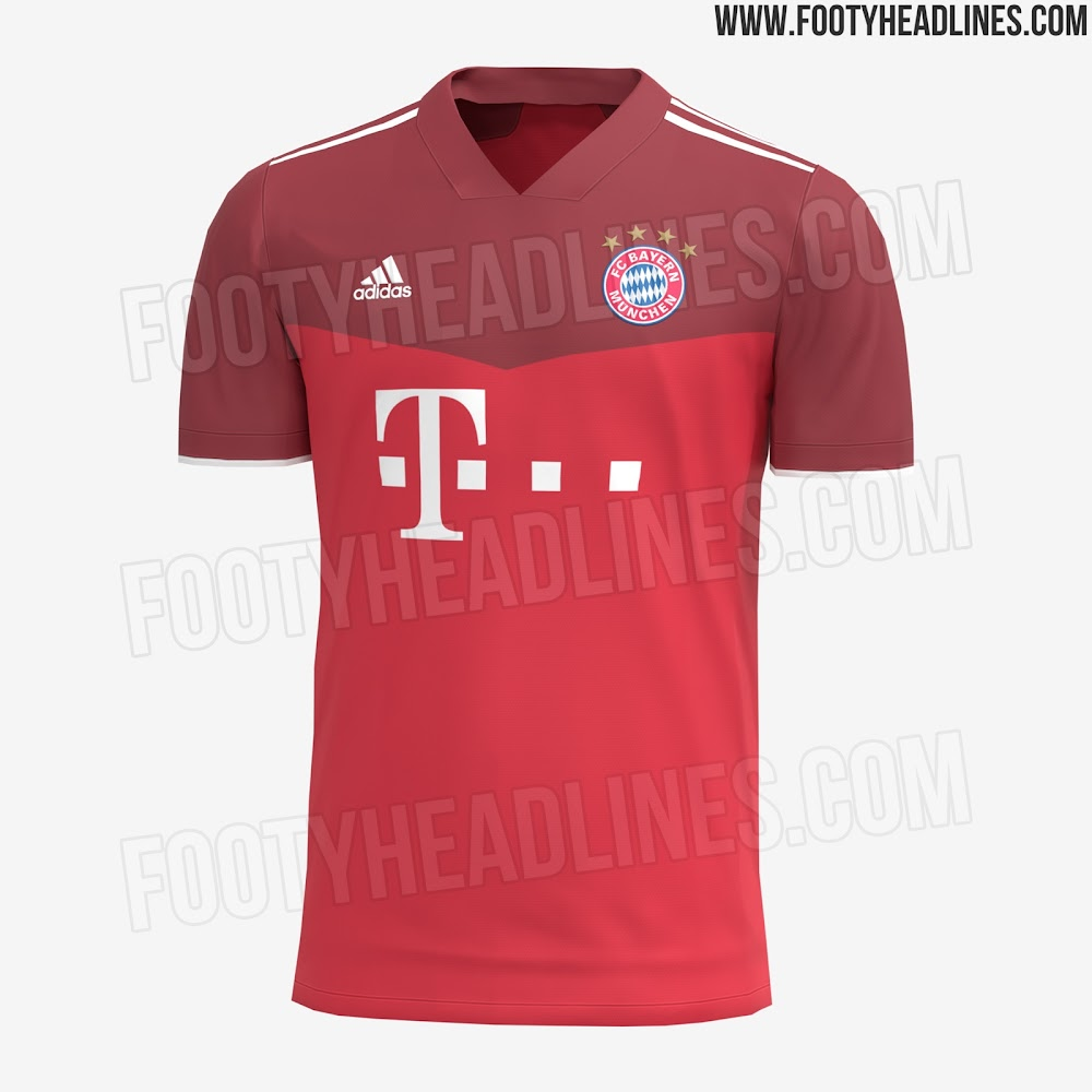 Exclusive: Bayern München 21-22 Home Kit Leaked - Footy Headlines