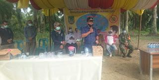 Drs H mhd Yusuf MSi: Gerakan Aman Dirumah, Sesuai Instruksi Bupati