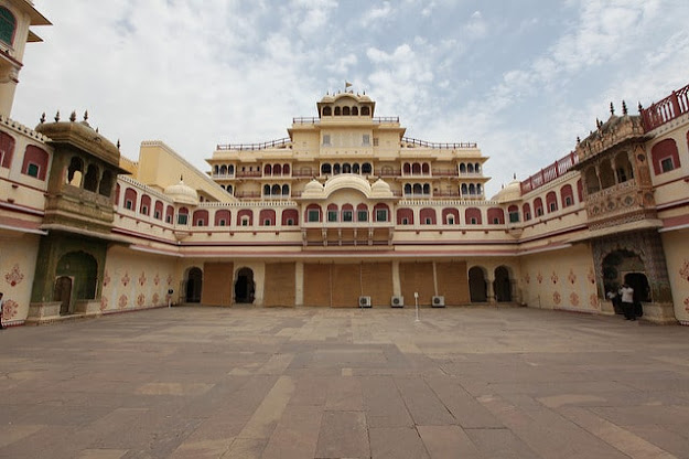 City Palace Tourism Monuments Place in Jaipur Rajasthan