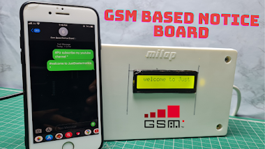 Arduino & GSM Based Electronic Notice Board