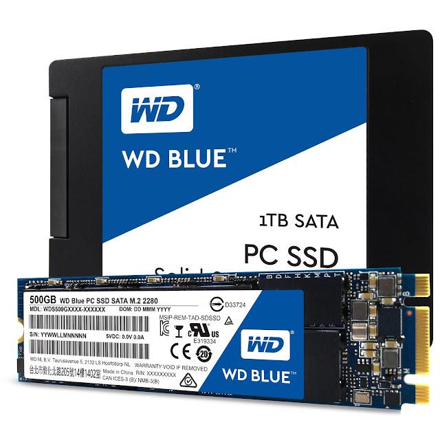 WD presenta sus unidades de estado sólido WD Blue y WD Green