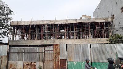 Bangunan di Jl. Husain Sastranegara Benda Diduga Tanpa IMB