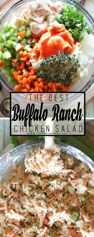 Buffalo Ranch Chicken Salad Recipe {Paleo, Whole30 Compliant}