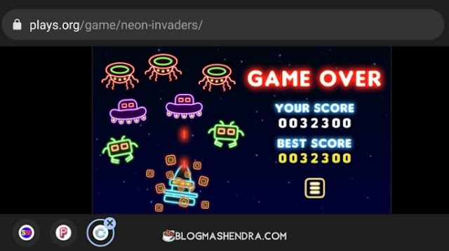 Game Online Neon Invaders
