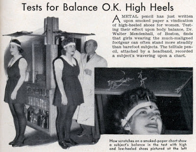 Tests for Balance OK High Heels