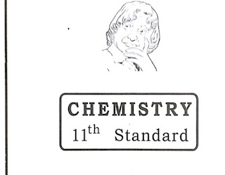11th std Chemistry model question paper for English medium
