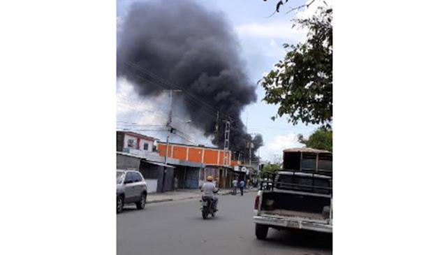 Explosión de transformadores ocasiona incendios en cinco barrios de Portuguesa