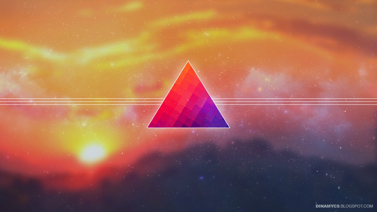 Hipster triangle backgrounds