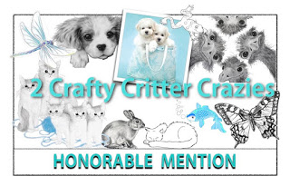 2 Crafty Critter Crazies Honorable Mention