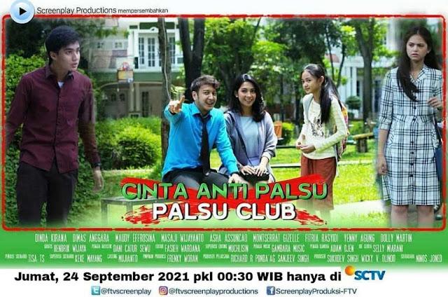 Nama Pemain FTV Cinta Anti Palsu Palsu Club SCTV Lengkap