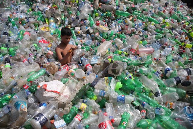 Discarica di Plastica